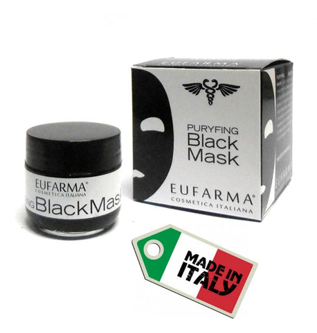 EUFARMA PURYFING BLACK MASK PEEL OFF ANTI PUNTI NERI  50 ML - OUTLET PRICE - RossoLaccaStore