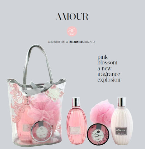 L'AMOUR SHOPPING REGALO PINK BLOSSOM ACCENTRA