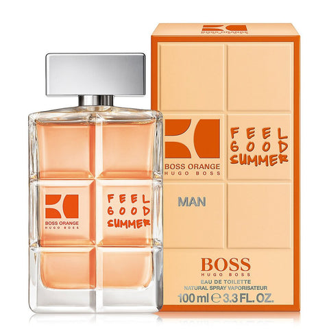 BOSS ORANGE FEEL GOOD SUMMER EAU DE TOILETTE FOR MAN 100 ML TESTER* - RossoLaccaStore
