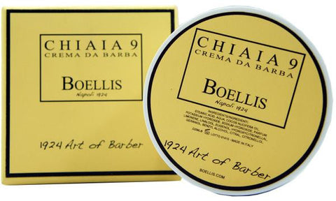 CREMA DA BARBA CHIAIA 9 BOELLIS THE ART OF BARBER - 220 ML - RossoLaccaStore