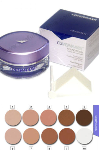 COVERMARK FOUNDATION FONDOTINTA CAMOUFLAGE N° 3 - RossoLaccaStore