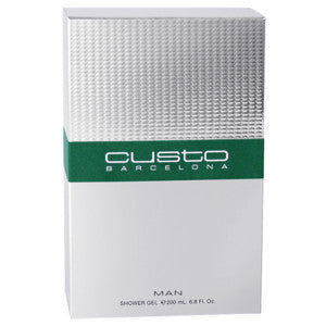 CUSTO BARCELONA MAN SHOWER GEL 200 ML - OUTLET PRICE - RossoLaccaStore