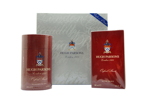HUGH PARSONS OXFORD STREET GIFT SET EAU DE PARFUM 100 ML + AFTER SHAVE 100 ML