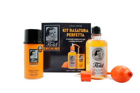 FLOID KIT RASATURA PERFETTA DOPOBARBA GENUINE 400 ML +SCHIUMA DA BARBA 300 ML