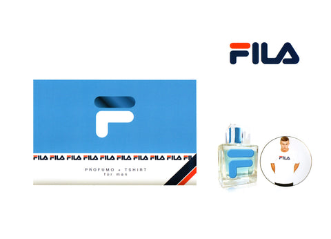 Fila For Men Eau De Parfum + T - shirt