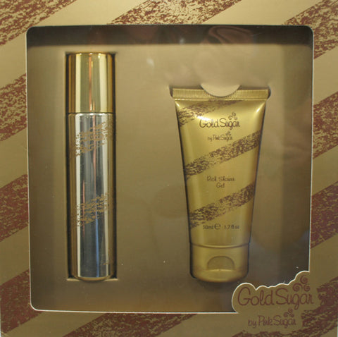 AQUOLINA GOLD SUGAR SET REGALO EAU DE TOILETTE 30 ML + RICH SHOWER GEL