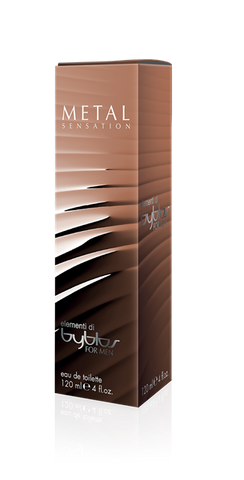 BYBLOS ELEMENTI FOR MAN METAL SENSATION EAU DE TOILETTE 120 ML