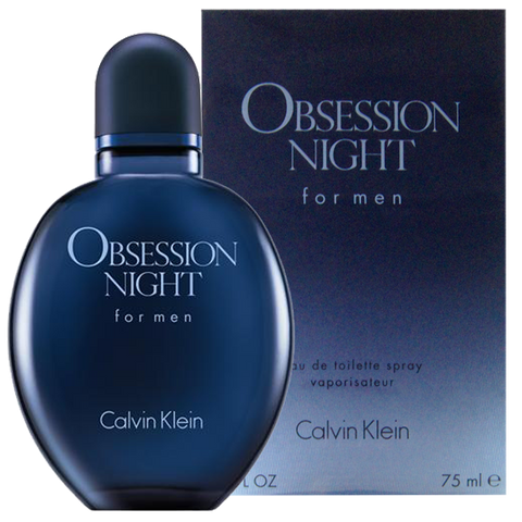 Calvin Klein Obsession Night For Men Eau De Toilette 75 ml - RossoLaccaStore