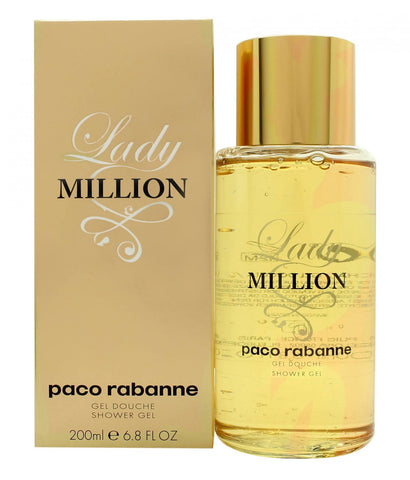 PACO RABANNE LADY MILLION GEL DOUCHE 200 ML - RossoLaccaStore