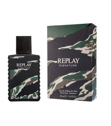 Replay Signature Red Dragon For Man - Eau De Toilette 30 ml - RossoLaccaStore
