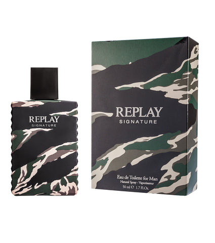 Replay Signature Red Dragon For Man - Eau De Toilette 50 ml - RossoLaccaStore