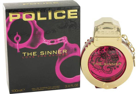 POLICE THE SINNER LOVE THE EXCESS EAU DE TOILETTE FOR WOMAN 100 ML