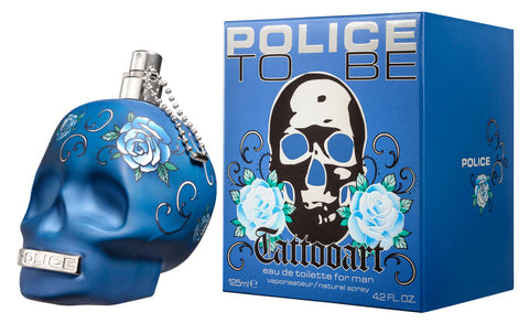 POLICE TO BE TATTOOART EAU DE TOILETTE FOR HIM 125 ML - RossoLaccaStore