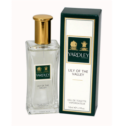 YARDLEY LILY OF THE VALLEY EAU DE TOILETTE 50 ML - RossoLaccaStore