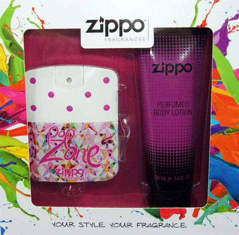 ZIPPO POP ZONE FOR HER GIFT SET - RossoLaccaStore