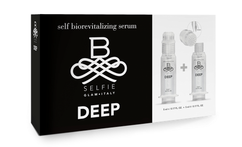 Innovativo filler antietà per autoapplicazioni con microaghi o con applicatore topico B-SELFIE DEEP