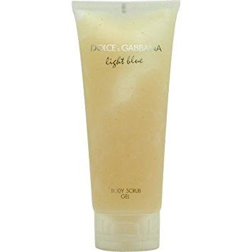 DOLCE & GABBANA LIGHT BLUE BODY SCRUB GEL 200 ML - RossoLaccaStore