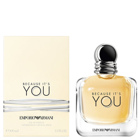 EMPORIO ARMANI BECAUSE IT'S YOU EAU DE TOILETTE 100 ML rossolacca store