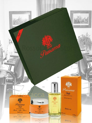"PANAMA ""Fefè"" (DANDY NAPOLETANO) EAU DE TOILETTE 100 ML SET REGALO"