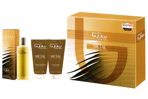 BYBLOS ELEMENTI FOR MAN METAL SENSATION GIFT SET