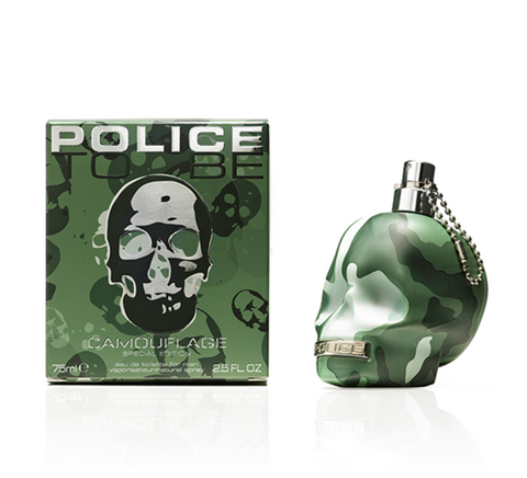 POLICE TO BE CAMOUFLAGE EAU DE TOILETTE FOR MAN 75 ML