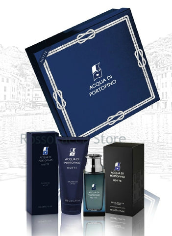 ACQUA DI PORTOFINO NOTTE SET REGALO EAU DE TOILETTE 100 ML + SHOWER GEL