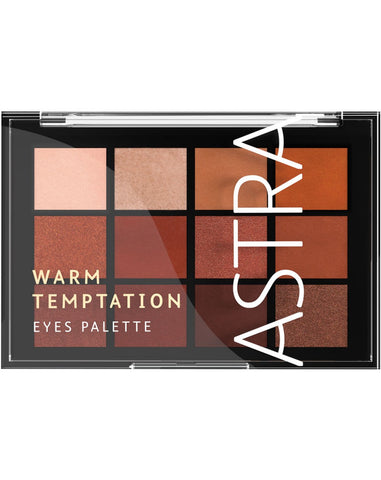 ASTRA WARM TEMPTATION EYES PALETTE 15g - RossoLaccaStore