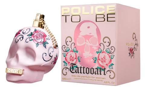 POLICE TO BE TATTOOART EAU DE TOILETTE DONNA 125 ML rossolaccastore