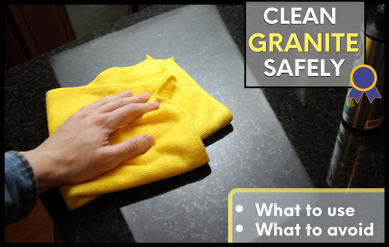 How to Clean Granite Countertops without Damaging
