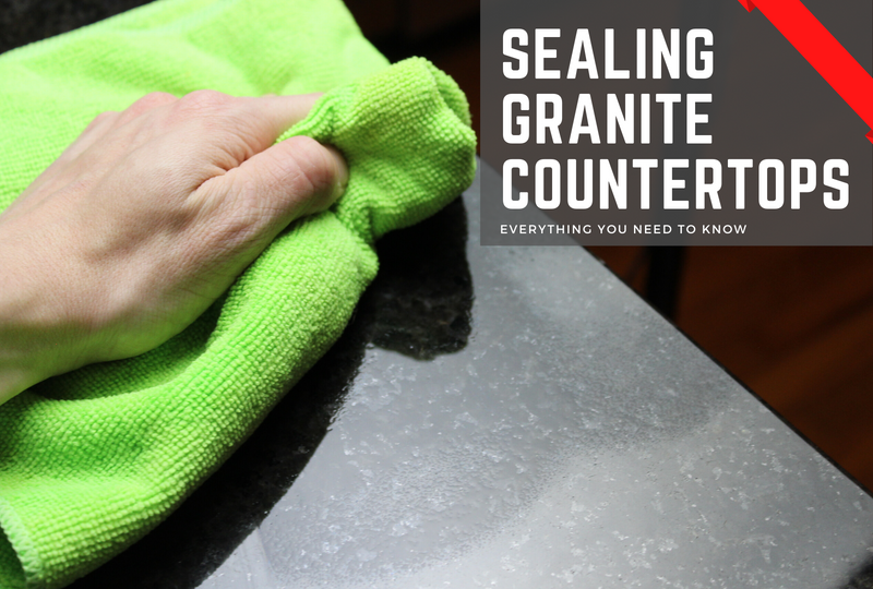 How to Seal Granite Countertops: What to Know