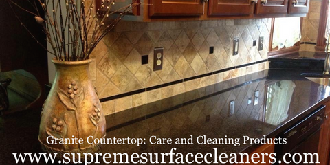 Care And Maintenance Products For Granite Countertops.