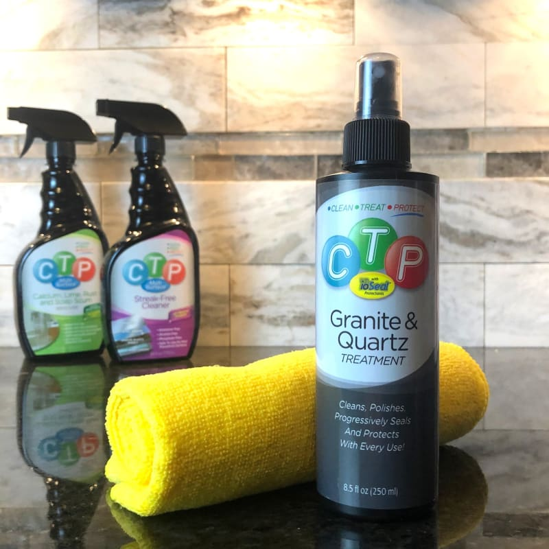 CTP Multi-Surface Quartz Treatment with ioSeal Protectants