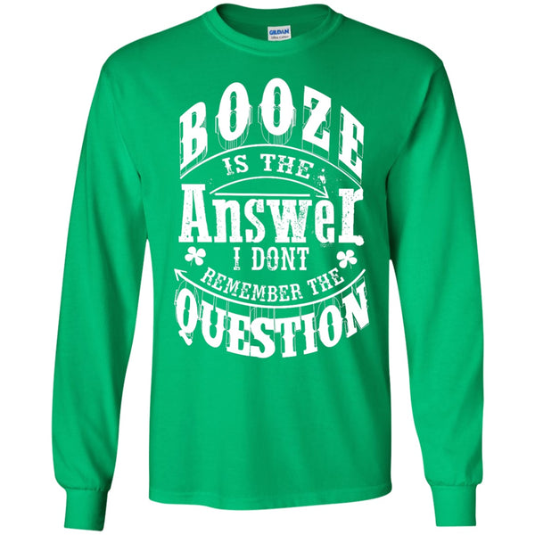 Apparel - Booze Is The Answer