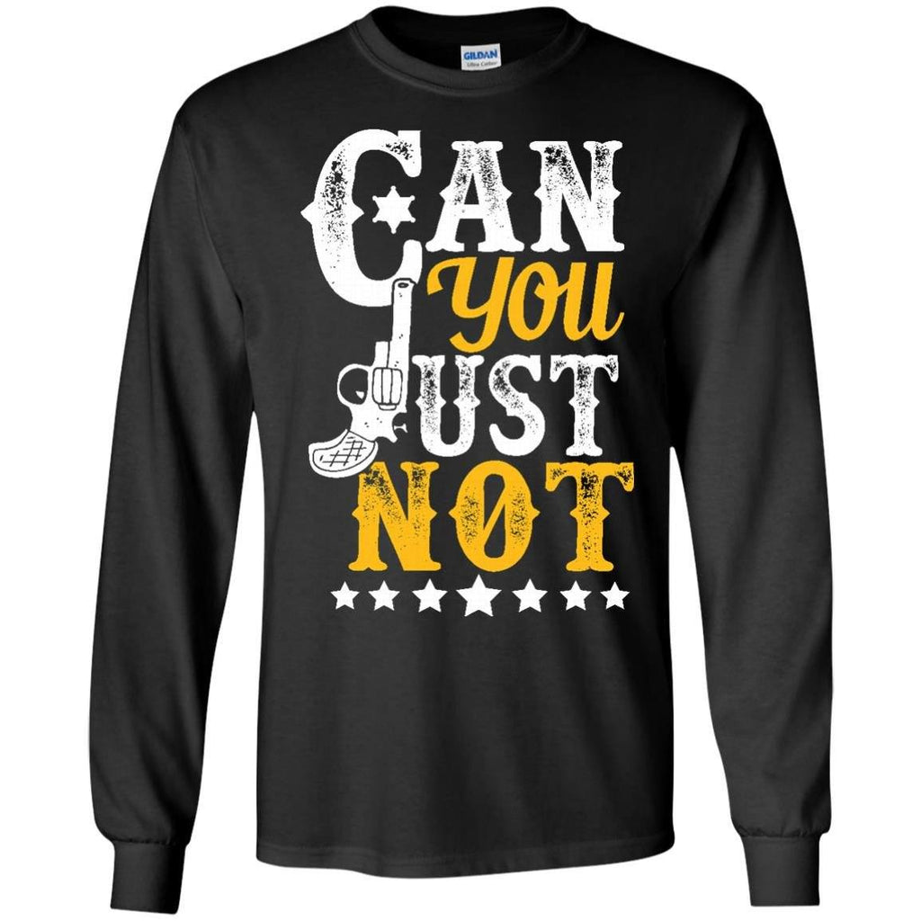 Apparel - Can You Just Not *Gold
