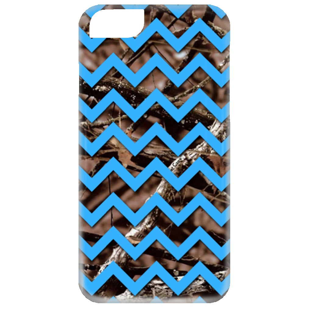 Apparel - Chevron Camo *Blue