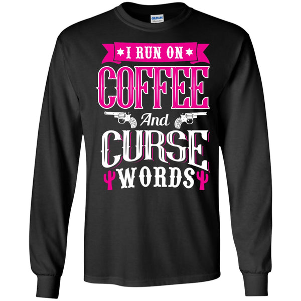 Apparel - Coffee & Curse Words *Pink