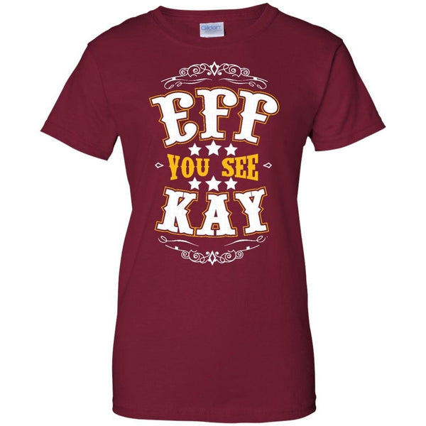 Apparel - Eff You See Kay *Gold