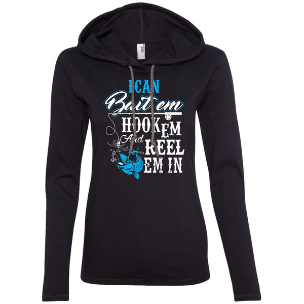 Apparel - I Can Bait Em, Hook Em & Reel Em In *Blue Sale