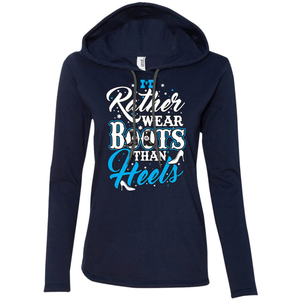 Apparel - I'd Rather Wear Boots Than Heels *Blue Sale