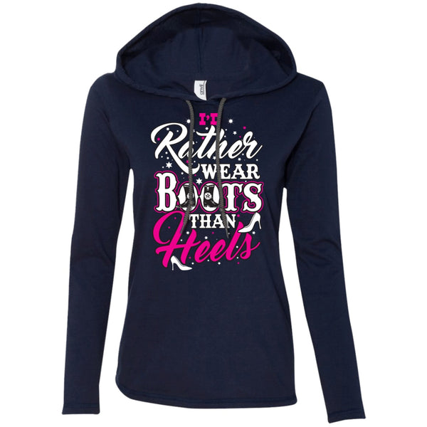 Apparel - I'd Rather Wear Boots Than Heels *Pink Sale