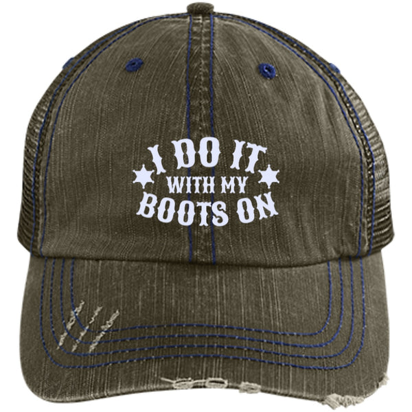 Apparel - I Do It With My Boots On *Cap