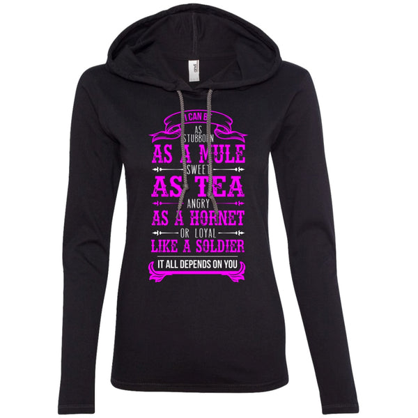 Apparel - I'm As Stubborn As A Mule, Sweet As Tea *Pink Sale