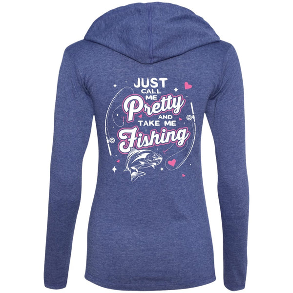 Apparel - Just Call Me Pretty & Take Me Fishing *Back
