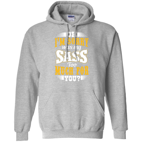 Apparel - My Sass Too Much