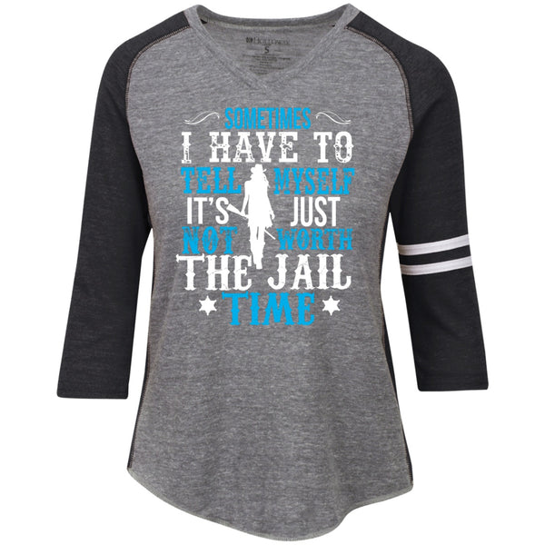 Apparel - Not Worth The Jail Time *Blue