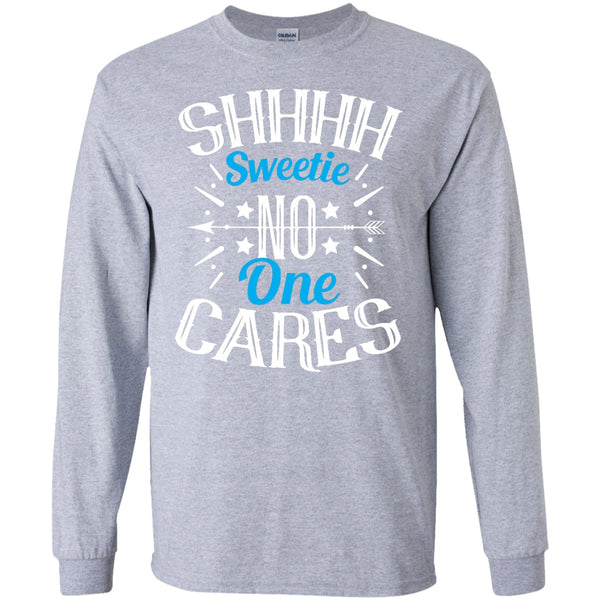 Apparel - Sweetie, No One Cares *Blue