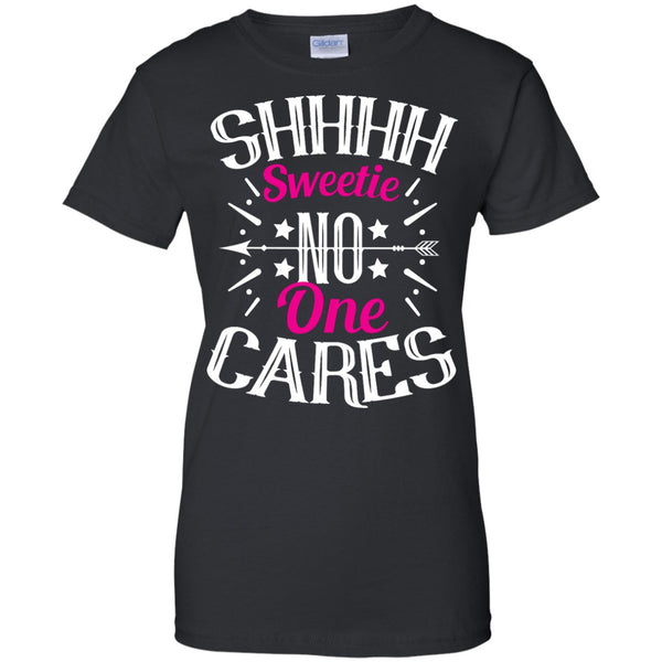 Apparel - Sweetie, No One Cares *Pink