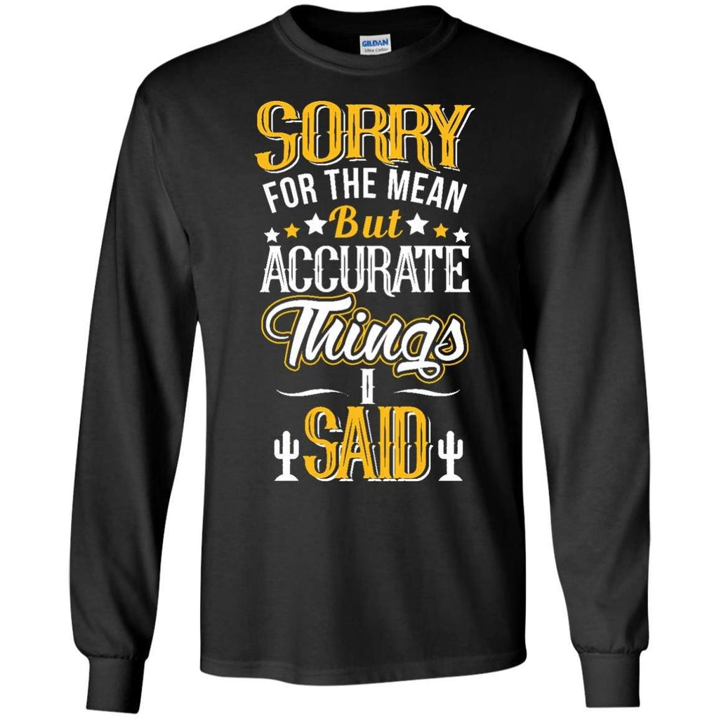 Apparel - The Mean Things I Said *Gold