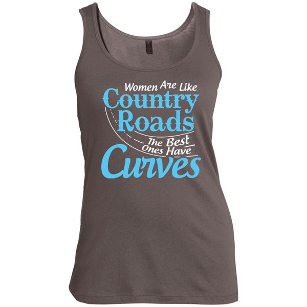 Apparel - Women Are Like Country Roads The Best Ones Have Curves *Blue