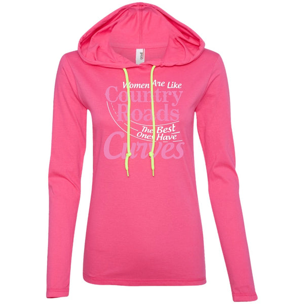 Apparel - Women Are Like Country Roads The Best Ones Have Curves *Pink